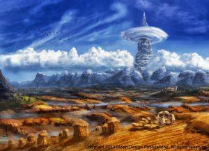 Earth Season by Jennifer Lange c Moon Design