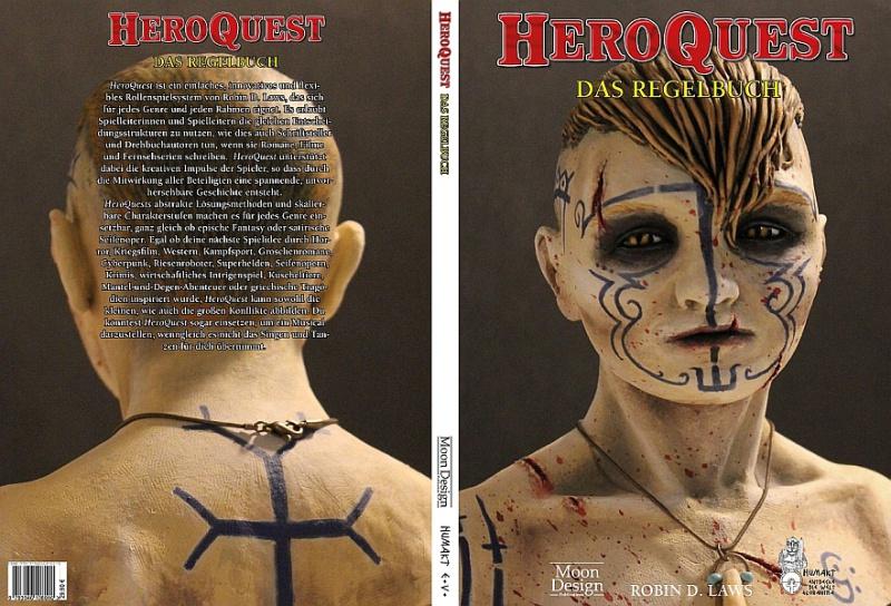 Bild: HeroQuest Das Regelbuch - Umschlagseiten